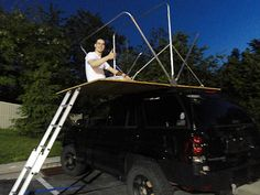 Expedition TrailBlazer Project - Page 14 - Expedition Portal Roof Rack Tent, Diy Roof Top Tent, Tent Awning, Diy Tent, Top Tents, Auto Camping, Truck Camping, Car Camper, Camper Parts