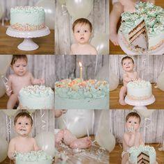 Baby birthday cake photo shoot Cake by Fräulein Lecker Dresden Photo by ZoKa-Fotosessions | Katja Knetschke