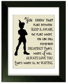 Peter Pan Nursery Print  Digital File  Instant by CarolinaCrazy, $3.50