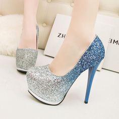 platform high heels for sale Cute Shoes Heels, Prom Shoes, Pretty Shoes, Wedding Shoes, Me Too Shoes, Shoe Boots, Platform High Heels, High Heels Stilettos, Fashion Heels