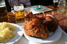 2,5 Mio. views on #GooglePlus today! My first post the best of #pork at #Andechs #Bavaria