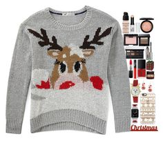 """Rudolph"" by chawy-mk ❤ liked on Polyvore featuring Givenchy, MAC Cosmetics, Benefit, NARS Cosmetics, Bobbi Brown Cosmetics, Sixtrees, Casetify and Waterford"
