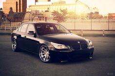 BMW 545i (Explored), via Flickr.