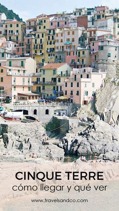 Si vas a viajar a Cinque Terre y estás organizando el viaje, voy a mostrarte c… If you are going to travel to Cinque Terre and you are organizing the trip, I will show you how to get there and what to visit. Europe Travel Tips, Spain Travel, Travel Goals, Greece Travel, Italy Travel, Places To Travel, Travel Destinations, Places To Go, Travel Trip