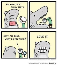 Fix my teeth!! LOVE IT!!