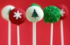 Holiday Season Cake Pops