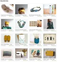 Beautiful lists by econica shop from Econicashop. www.etsy.com/treasury/MzExNDc1MTV8MjcyNjg4NzQ3MA/beautiful-lists