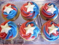 Captain America Birthday Cake Sugar Rush Art Captain