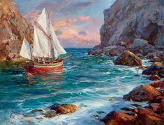 Море, чайки, паруса...Сергея Свиридова