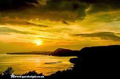 Sidmouth sunset, Devon by @GaryHolpin