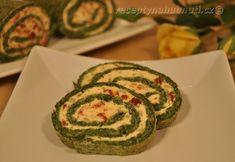 spenatova_rolada_II Zucchini, Vegetables, Menu, Food, Menu Board Design, Essen, Vegetable Recipes, Meals, Yemek