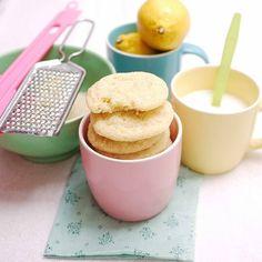 lemon sugar cookies #cookies