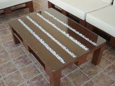 1000 images about muebles on pinterest pallets bureaus - Mesa de palets bricolaje ...