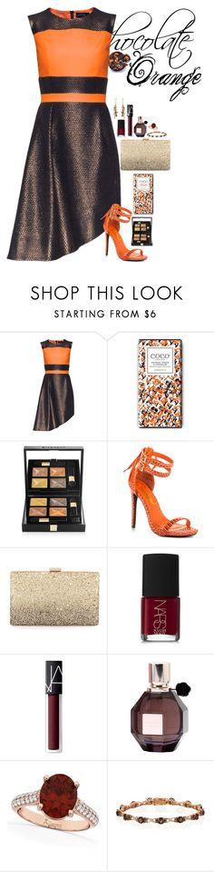 """Chocolate Orange"" by fashion-nova ❤ liked on Polyvore featuring Lattori, Givenchy, Privileged, Neiman Marcus, NARS Cosmetics, Viktor & Rolf, Allurez and LE VIAN"