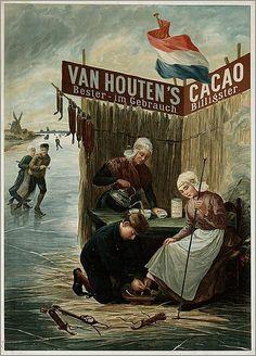 File:Van Houten's Cacao Bester - im Gebrauch Billigster. Vintage Ephemera, Vintage Labels, Vintage Ads, Vintage Stuff, Vintage Wall Art, Vintage Posters, Vintage Prints, Retro Posters, Movie Posters