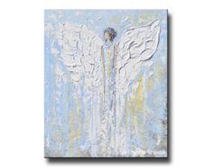 GICLEE PRINT Art Abstract Painting Dancer door ChristineKrainock