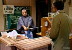 Samaurai Delicatessen - John Belushi and Buck Henry on Saturday Night Live
