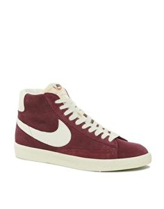 nike blazer mid leather red catsuit