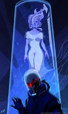 Mr. and Mrs. Freeze by Kim Herbst for @Sketch_Dailies