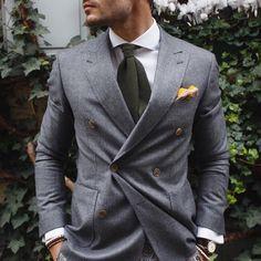 Men's Tie Inspiration #4 | MenStyle1- Men's Style Blog