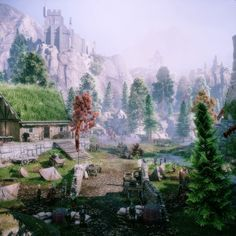 Screenshots from videogames and reviews : DA:I