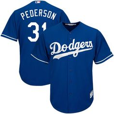 81eab9a1fb3e7 Joc Pederson Los Angeles Dodgers Majestic Official Cool Base Player Jersey  - Royal