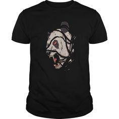 Oso panda Momia monsters t shirt