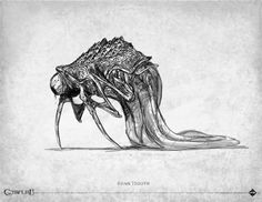 Loïc Muzy - artwork: bestiaire Call of Cthulhu edition - Éditions… Hp Lovecraft, Lovecraft Cthulhu, Art Cthulhu, Call Of Cthulhu Rpg, Cthulhu Tattoo, Alien Creatures, Fantasy Creatures, Noctis, Lovecraftian Horror