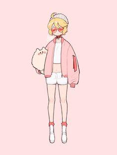 Anime Drawing Styles, Cartoon Art Styles, Drawing Ideas, Manga Art, Anime Art, Terror In Resonance, Character Template, Anime Inspired Outfits, Pokemon
