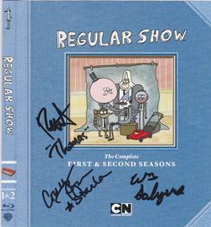 Blu Ray insert now signed by Roger Craig Smith (Thomas), William Salyers (Rigby) and Courtenay Taylor (Starla)