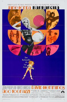 Jane Fonda as Barbarella!