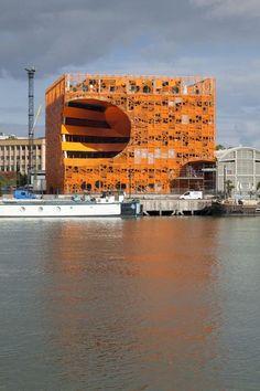 Ingenious Orthogonal Orange Cube with Innovative Architecture
