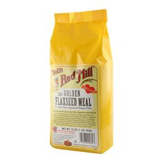Flaxseed Meal...I love it and use it as a hot cereal....mixed in some peanut butter and I was in LOVE!  :)