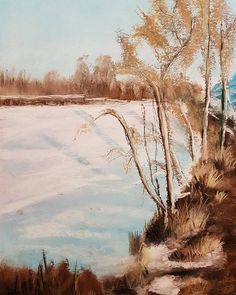 Lots of #snow outside so time for a #softpastel #doodle #practice #painting of this #winterlandscape  #inspiration found on #pinterest  #rembrandtpastels #pasteldoodle #pastelpainting #pasteldrawing #pastelsketch #sketch #sketchbook #sketchaday #instasketch #instaart #instaartist #instadoodle #drawing #autumn #winter #bestpastelart