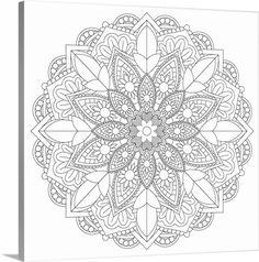 Coloring Mandala Pretty 27