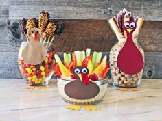 3 Thanksgiving Kids' Table Centerpieces They're Sure to Gobble Up