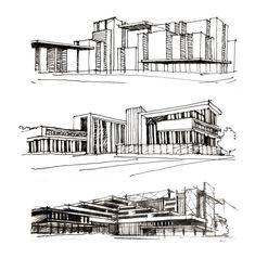 Поиск формы _____________ #architecturelover #architecture #archi #arch #architects #sketch #sketching #sketches #pensketch #arch_more #dailysketch #archdaily #handdrafting #design #archilovers #concept #sketch_arq #arqsketch #arch_sketcher #handdrawing