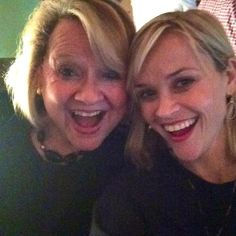 "Reese Witherspoon-""Happy Mother's Day to my wonderful Mom! She always makes me laugh! #bestmomever"" --Reese Witherspoon, who showed us where she gets her trademark smile while posing with her mom on Mother's Day"