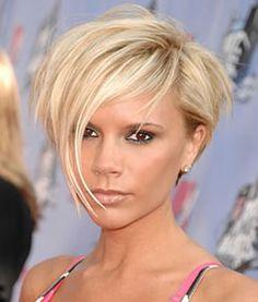 Asymmetrical Short Hair Cut