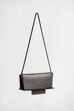 BLACK ARID CLUTCH | CHIYOME - Minimalist Handbags