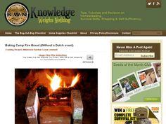 fireplace or campfire bread home made  http://dirttime.com/?p=2776