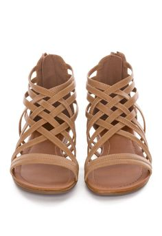 Always Gladiator Sandals - Taupe