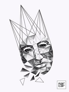 ae5b662029fec44ea581f4844cf80640.jpg (1240×1641) #tattooscetch  #dotwork  #slobodyanic #kar.car #polingons #graphics