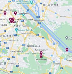 Haunted Places, Me On A Map, Vienna, Maps, Tourism, Google, Travel, Island, Turismo