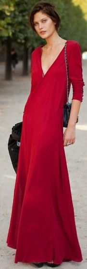 Street style maxi ♥✤ | Keep the Glamour | BeStayBeautiful