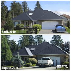 Never  Re-Roof Again -  Four years later, this Metal Slate Roof looks as beautiful as when it was first installed.   Interlock® Roofing provides the finest #MetalRoofs - designed, produced and installed to last for a lifetime!  http://interlock.bestroof.com/pinterest/ 1-866-733-5811 Gardening, Home improvement, Curb Appeal, Renovation ideas.