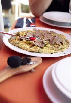 Black Truffle omelette