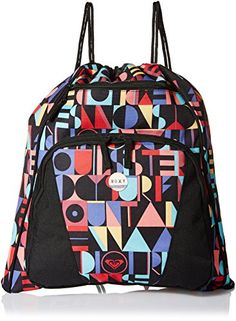 451172dcdc Roxy Juniors Sugar Me Up Carry Sack Soul Sister One Size *** Click image