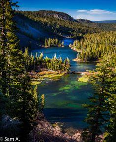 Twin Lakes in Mammoth Lakes, California