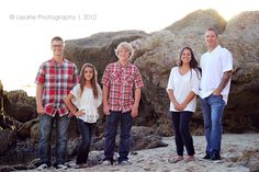 Beach family photos by Lissarie Photography
